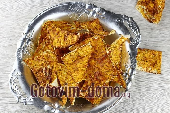 Как сделать чипсы из лаваша.