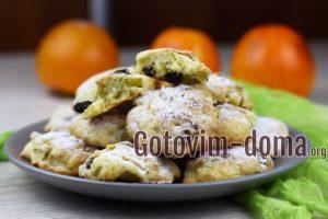 Печенье с яблоками.