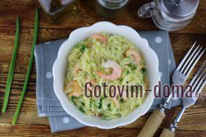 орзо с креветками рецепт с фото очень вкусный без майонеза.