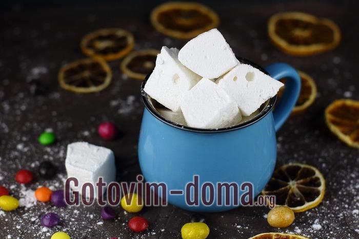Маршмеллоу в домашних условиях рецепт с фото пошагово с желатином.