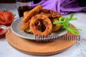 Как приготовить кальмары вкусно и просто кольцами